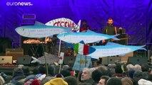 Italie : à Bologne, démonstration de forces des Sardines