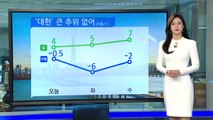 [날씨] '대한' 추위 대신 미세먼지...일부 지역 비·눈 / YTN