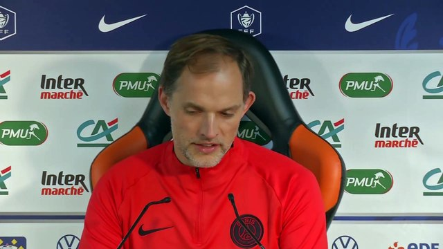 Tuchel «Cela peut arriver qu'un match soit compliqué» - Foot - Coupe - PSG