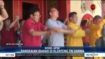 Umat Tri Darma Kediri Lakukan Sejumlah Ibadah Jelang Tahun Baru Imlek