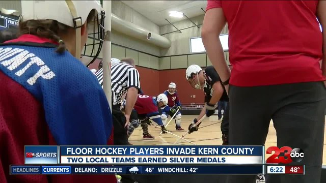 Special Olympics Floor Hockey tourney held in Bakersfield