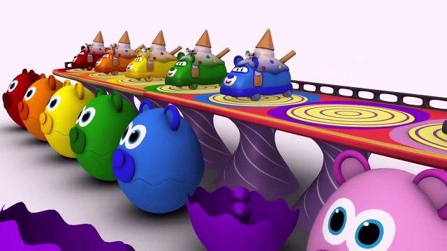 Aprender los Colores con espirales 3D  BIBI videos educativos infantiles