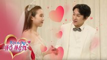 Dating for a day, the couple go try wedding costumes together