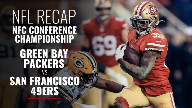 NFC Conference Championship:  Green Bay Packers vs San Francisco 49ers