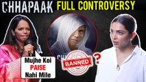 Deepika Padukone Chhapaak BAN, JNU Protest, Laxmi Agarwal | All Controversies