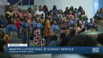 Valley church holds service to reflect history behind Martin Luther King Jr. Day