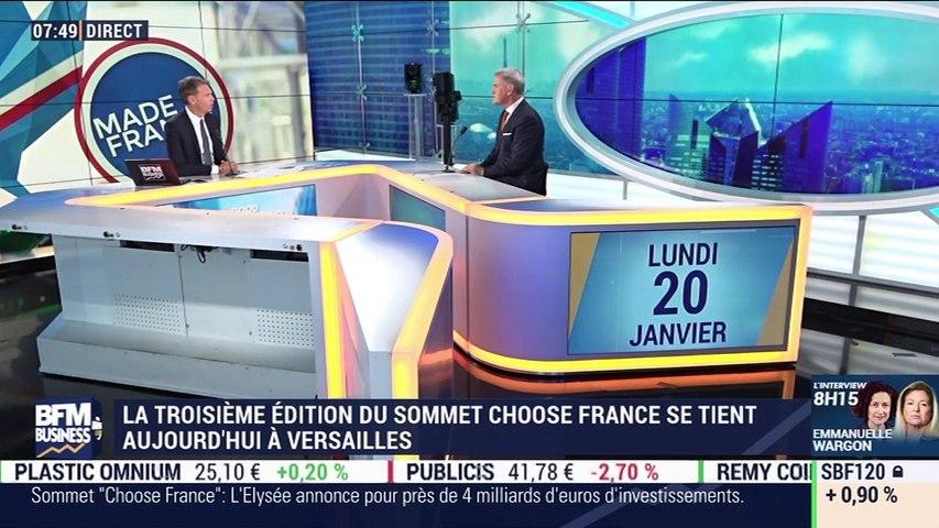 Pascal Cagni (Business France) : La troisième édition du Sommet Choose France se tient aujourd'hui à Versailles - 20/01 | Godialy.com