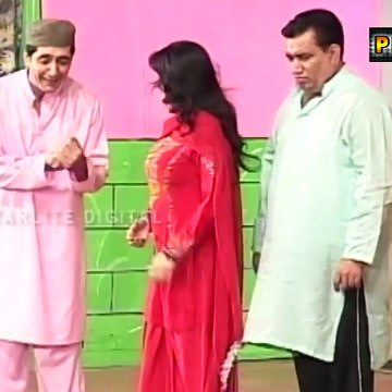 Best of Iftekhar Thakur and Tariq Teddy Stage Drama Full Comedy Clip