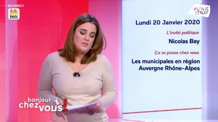 Nicolas Bay - Public Sénat lundi 20 janvier 2020