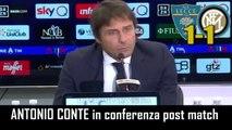 LECCE-INTER 1-1:  ANTONIO CONTE in CONFERENZA STAMPA e INTERVISTA NEL POST PARTITA - INTEGRALE