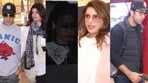 Spotted Ranbir kapoor Priyanka Chopra Kajol Akshay Kumar And Twinkle At airport