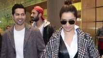 Varun Dhawan And Shraddha Kapoor Promote Street Dancer 3d At The Airport