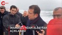 İmamoğlu'ndan Berat Albayrak açıklaması