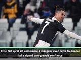 """20e j. - Sarri : """"Ronaldo est un """"animal"""" qui vit pour des buts"""""""
