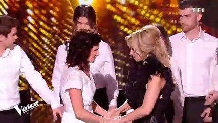 The Voice : Maria, aveugle, bouleverse Lara Fabian aux larmes