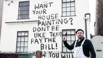 Facture impayée : un peintre en bâtiment se venge à sa manière