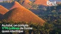 """Les """"Collines chocolat"""", une merveille géologique sur une île des Philippines"""