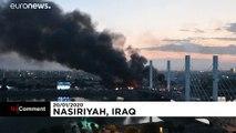 العراق: استمرار الإشتباكات بين المحتجين وقوات الأمن