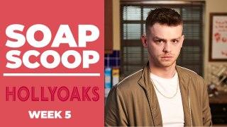 Hollyoaks Soap Scoop! Drug dealer Jordan causes trouble