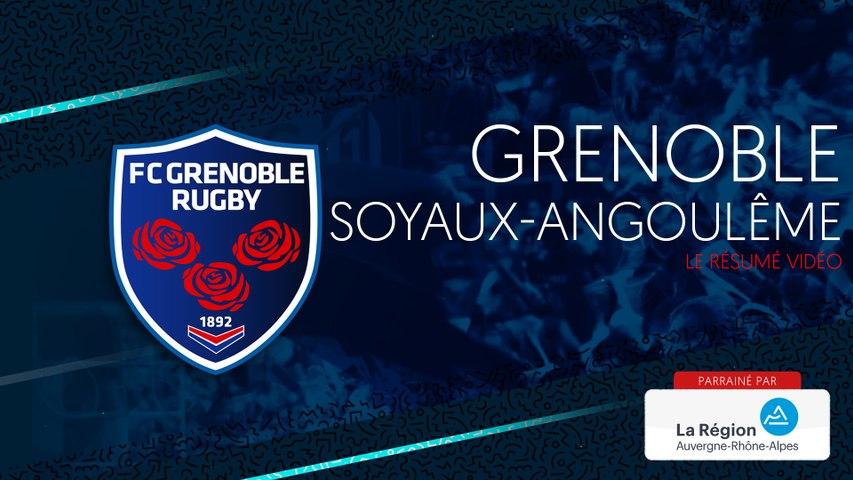 Rugby : Video - Grenoble - Soyaux Angoulême : le résumé vidéo