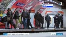 Grève du 20 janvier : trafic quasi normal dans le métro parisien