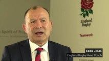 Eddie Jones announces England Six Nations squad