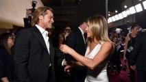 Brad Pitt et Jennifer Aniston se sont encore montrés plus proches que jamais...