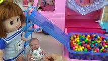Baby Doll camping bus pool car toys baby Doli play
