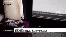 Αυστραλία: Χαλάζι μετά τις πυρκαγιές