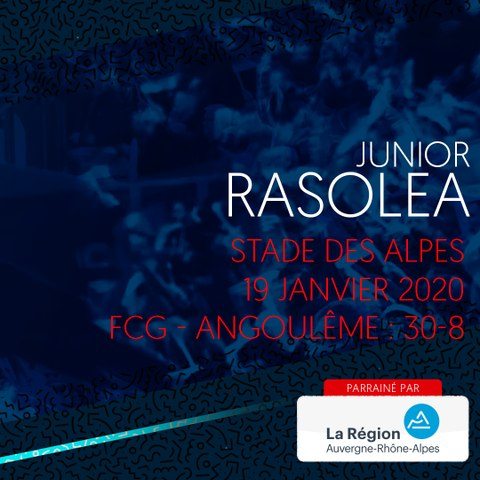 Rugby : Video - L'essai de Junior Rasolea contre Soyaux-Angoulême