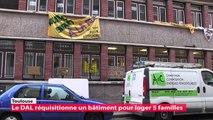 Toulouse :le DAL réquisitionne un bâtiment pour loger 5 familles