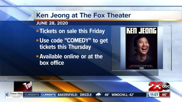 Ken Jeong coming to the Fox Theater in Bakersfield