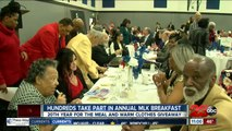 Hundreds take part in annual MLK breakfast