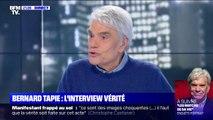 """Bernard Tapie à propos des retraites: """"Il n'y a rien de plus motivant pour un être que de se sentir utile"""""""