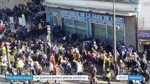 Manifestant frappé au sol à Paris : les policiers portent plainte contre lui