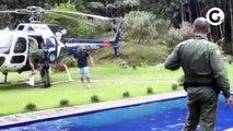 Grávida em trabalho de parto é resgatada pelo helicóptero Harpia no Sul do ES