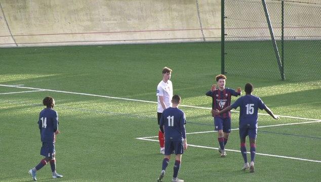 U17 Nationaux : Les 2 buts marqués dans le jeu lors de SMCaen 3-1 Boulogne