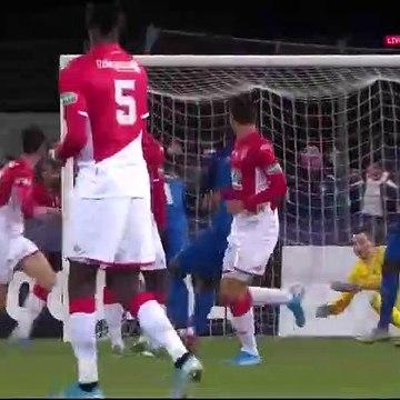 Saint-Pryve 1-3 Monaco - Les Buts - 20.01.2020