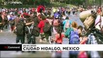 Flucht von Guatemala nach Mexiko