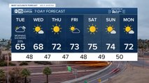 Rain chances return to kick off the week