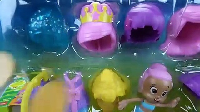 Bubble Guppies Toys Molly Snap and Dress Hair Salon Deema Oona Hair Cowgirl Princess Ballerina Toys