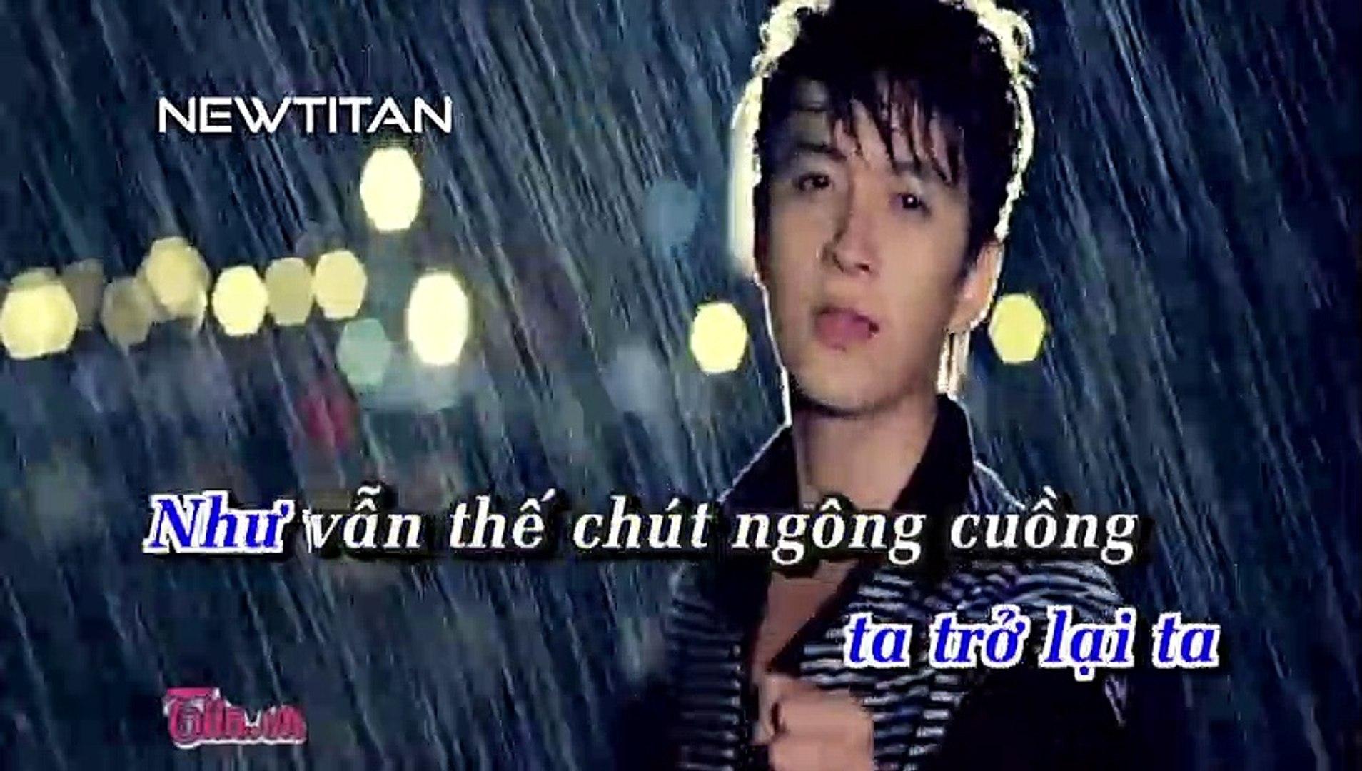 [Karaoke] Khóc Trong Mưa - Ngô Kiến Huy [Beat]