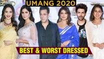UMANG 2020 FULL RED Carpet Best And Worst Dressed | Katrina, Priyanka, Sara, Hrthik, Salman | UNCUT
