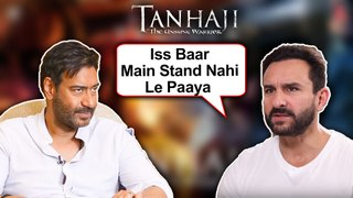 Saif Ali Khan FORCED To Do Tanhaji Movie With Ajay Devgn? Reveals SHOCKING Details!