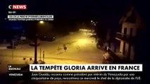 Tempête Gloria - le mauvais temps arrive sur la France après avoir fait 3 morts en Espagne - De fortes pluies, des vents violents et d'importants cumuls de neige attendus - Vidéo