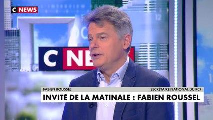 Fabien Roussel - CNews mardi 21 janvier 2020