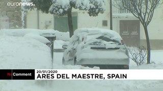 Ten provinces on red alert as Storm Gloria sweeps across Spain