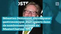 Sébastien Demorand, ancien juré de «Masterchef» sur TF1, est mort des suites d'une longue maladie