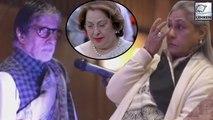 Jaya Bachchan Cries At Ritu Nanda's Prayer Meet