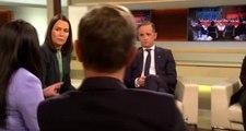 Alman vekil TV programında Cumhurbaşkanı Erdoğan'a iftira attı, yanındaki uzmanlar anında yalanladı